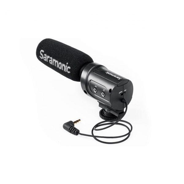 میکروفن روی دوربینی